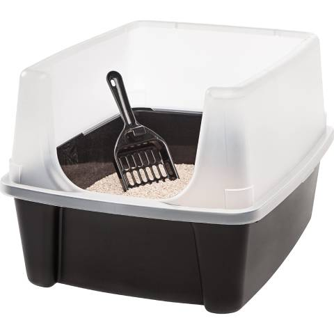 IRIS USA Cat Litter Box