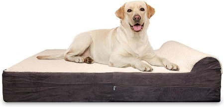 KOPEKS Jumbo XL Orthopedic Dog Bed