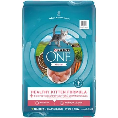 Purina ONE Healthy Kitten Formula Dry Cat Food
