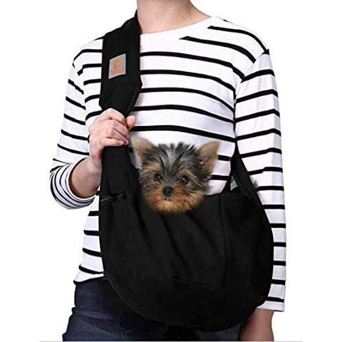 TOMKAS Small Dog Cat Carrier