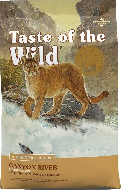Taste of the Wild Canyon River Gran-Free Dry Cat Food