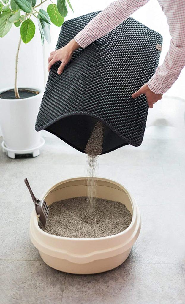 using BlackHole Litter Mat