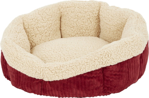 Aspen Pet Self-Warming Bolster Cat Bed