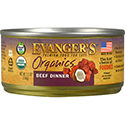 Evanger's Organics Beef Dinner for Cats