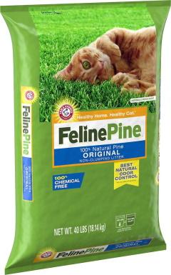 Feline Pine Original Non-Clumping Wood Litter
