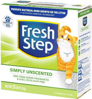 Fresh Step Simply Unscented Clumping Clay