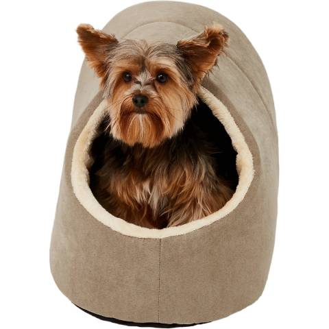 Frisco Cave Covered Cat & Dog Bed (2)