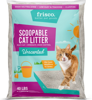 Frisco Multi-Cat Unscented Clumping Clay