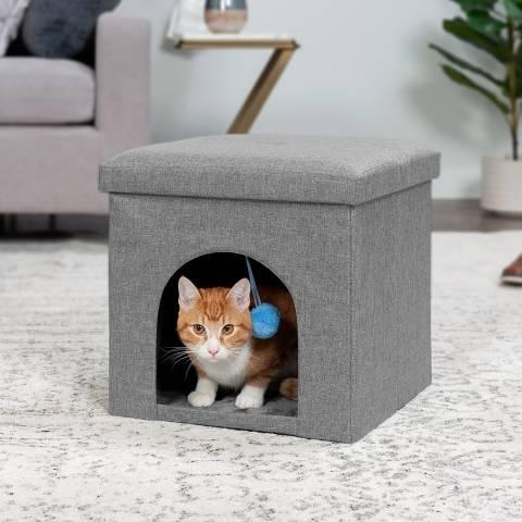 फुरहेवन हाउस फुटस्टूल और तुर्क बिल्ली बिस्तर (1)