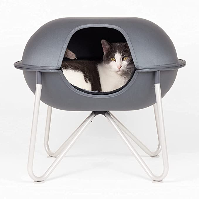Hepper Pod Cat Tower and Enclosed Cat Bed Cave
