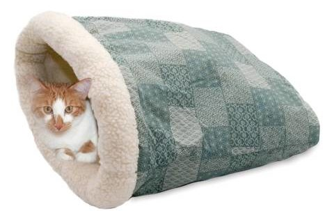 के एंड एच पालतू उत्पाद किट्टी क्रिंकल बोरी बिल्ली बिस्तर (2)