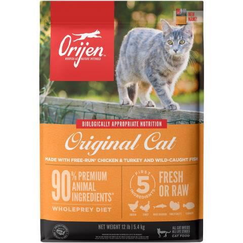ओरिजेन मूल अनाज मुक्त सूखी बिल्ली का खाना (1)