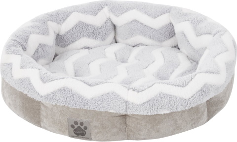 Precision Pet Products SnooZZy Round Shearling Bolster pet bed