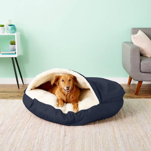 Snoozer Pet Products Cozy Cave Covered Cat & Dog Bed (1)