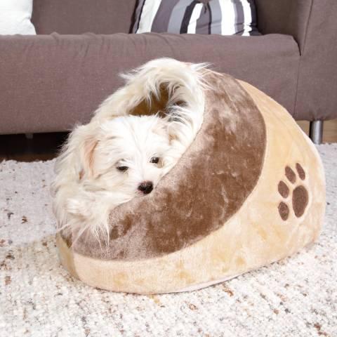 TRIXIE Minou Cuddly Cave Dog & Cat Bed (1)