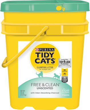 Tidy Cats Free & Clean Unscented Clumping Clay